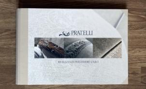 <p>Catalogo per Pratelli Tappezzeria - Alto artigianato del mobile<br />Realizzazione catalogo in collaborazione con:<br />Simone Stefanelli (Spazio16 fotografia) - Fotografia<br />Roberta Caciagli (Art&Co) - Art buyer</p>
