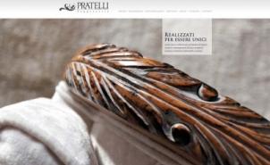 <p>Cliente: Pratelli Tappezzeria<br />Sito web realizzato in collaborazione con zakidesign (www.zaki.it)<br />Home page</p>